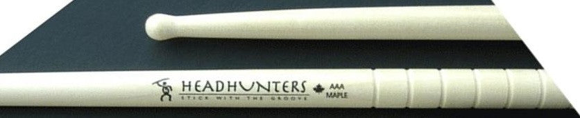 # AAA HEADHUNTER DRUM STICKS, WOOD TIP, MAPLE