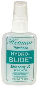 "HETMAN #20 ""HYDRO-SLIDE"" SYNTHETIC TROMBONE OIL, w/  APPLICATOR BOTTLE"