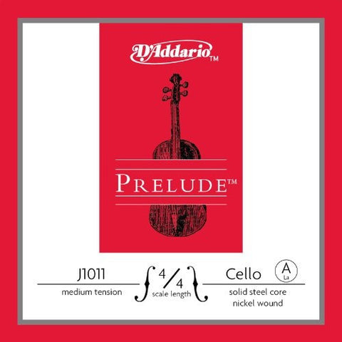 "PRELUDE CELLO ""A"" STRING, MEDIUM, NICKEL WOUND"