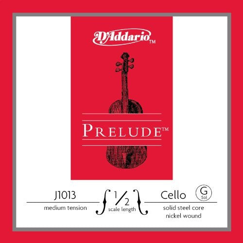 "PRELUDE CELLO ""G"" STRING, NICKLE WOUND"