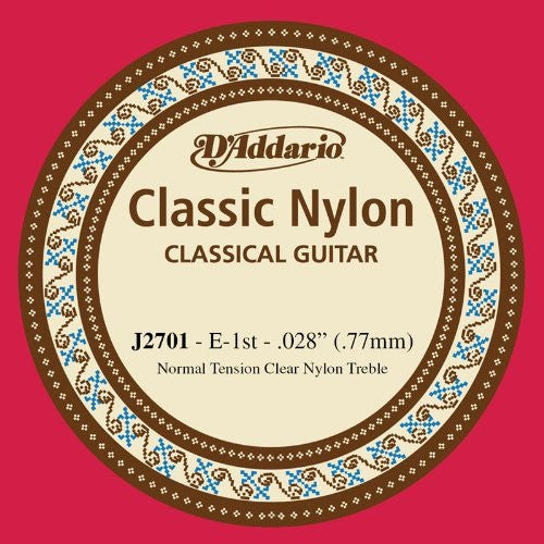 ".71MM ""E"" CLASSIC, CLASSICAL GUITAR SINGLE STRING, NYLON"