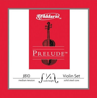 PRELUDE VIOLIN STRING SETS, MEDIUM, STEEL