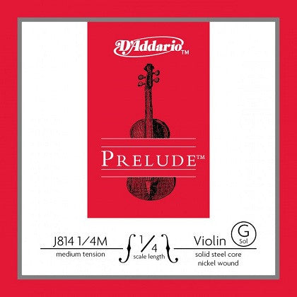 "PRELUDE 1/4 VIOLIN ""G"" STRING, MEDIUM"