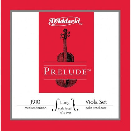 PRELUDE STEEL VIOLA STRING SET, MED., LONG SCALE