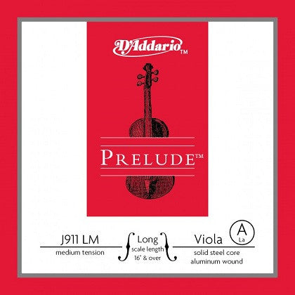 "PRELUDE STEEL VIOLA  ""A"" STRING, MED., LONG SCALE"