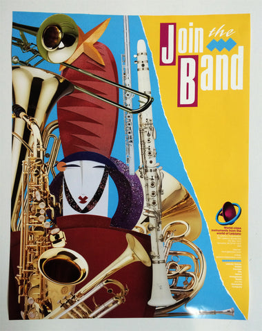 "POSTER, LEBLANC ""JOIN THE BAND"""