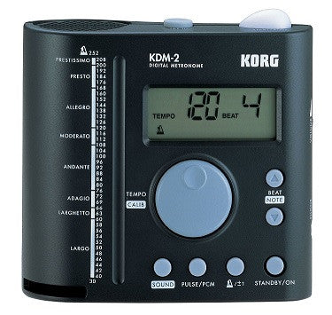 KORG DIGITAL METRONOME, EXTRA LOUD, BLACK