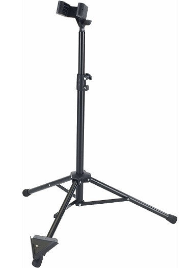 K&M BASSOON / BASS CLARINET STAND, ADJUSTABLE HEIGHT, FOLDING