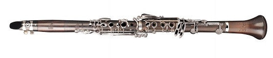 "LEBLANC ""BLISS"" CLARINET, GRENADILLA WOOD, RINGLESS BARREL & BELL, NICKEL PLATED KEYS, ADJUSTABLE THUMBREST, SOFT CASE"