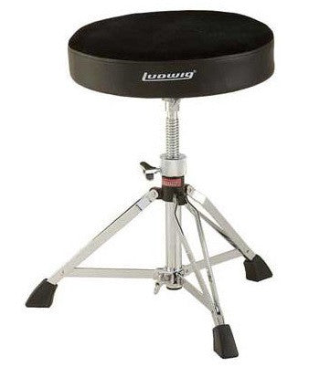 "LUDWIG ""ACCENT PRO"" DRUM THRONE, FABRIC SEAT"