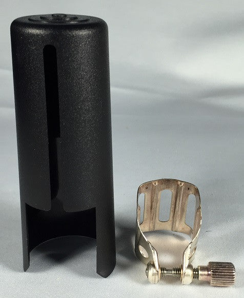BG TENOR SAX LIGATURE & CAP SET FOR METAL JAZZ MOUTHPIECES