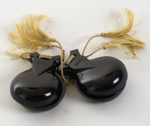 LUDWIG CASTANETS, HAND HELD TYPE PAIR