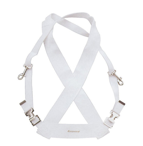 LUDWIG BASS DRUM STANDARD SLING, WHITE
