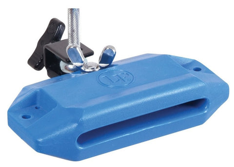 LP JAM BLOCK WITH BRACKET, HIGH PITCH, BLUE