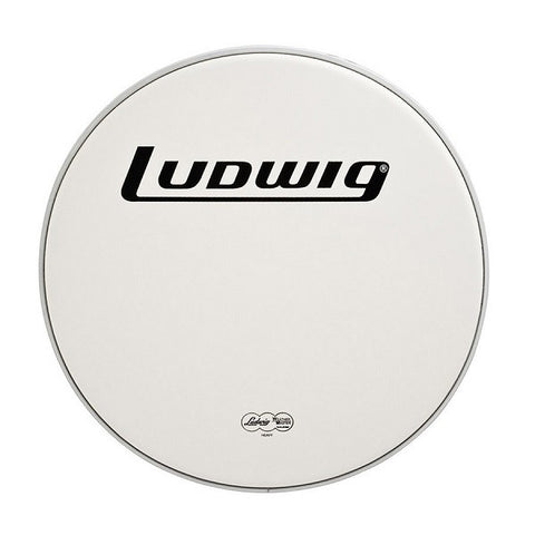 "LUDWIG BASS DRUM HEAD, 22"", HEAVY SMOOTH"