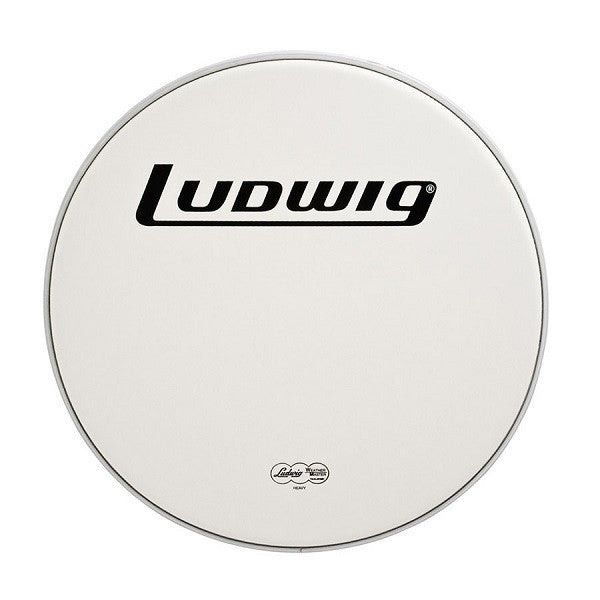"LUDWIG BASS DRUM HEAD, 28"", HEAVY SMOOTH"