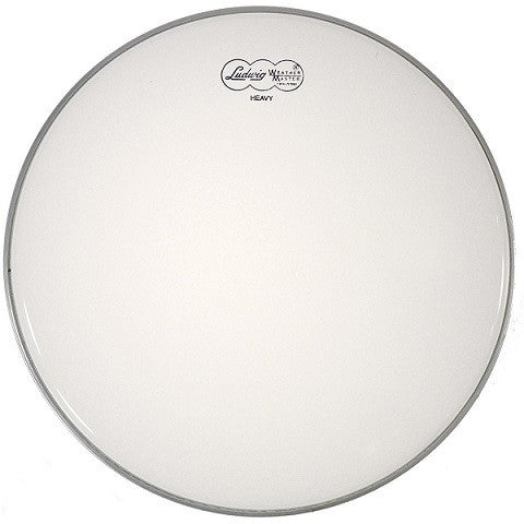 "LUDWIG BATTER HEAD, 13"", COATED WHITE HEAVY"