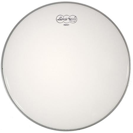 "LUDWIG BATTER HEAD, 14"", COATED WHITE HEAVY"