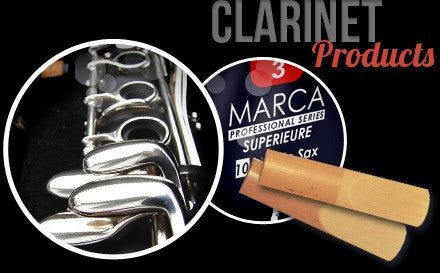 MARCA Bb CLARINET REEDS, BOX OF 10