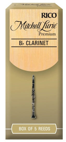 MITCHELL LURIE PREMIUM CLARINET REEDS, BOX OF 5
