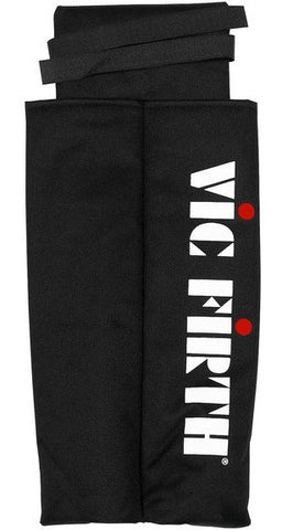 VIC FIRTH MARCHING SNARE DRUM STICK BAG, 2 POUCHES, VELCRO
