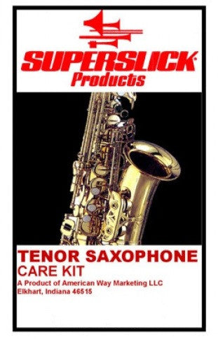 SUPERSLICK TENOR SAXOPHONE CARE KIT