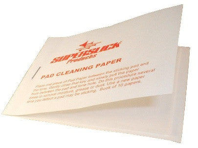 SUPERSLICK PAD CLEANING PAPER, 10 PK.
