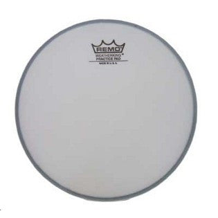 "REMO 6"" TUNEABLE PRACTICE PAD HEAD, COATED"