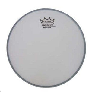 "REMO 8"" TUNEABLE PRACTICE PAD HEAD, COATED"