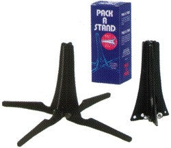 PACK-A-STAND TRUMPET STAND, FOLDS INSIDE BELL, PLASTIC