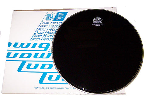 "LUDWIG ""ROCKER"" BATTER HEAD, 18"", BLACK  Discontinued Item"