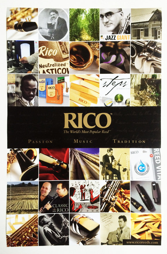 "POSTER, RICO ""PASSION / MUSIC / TRADITION"""