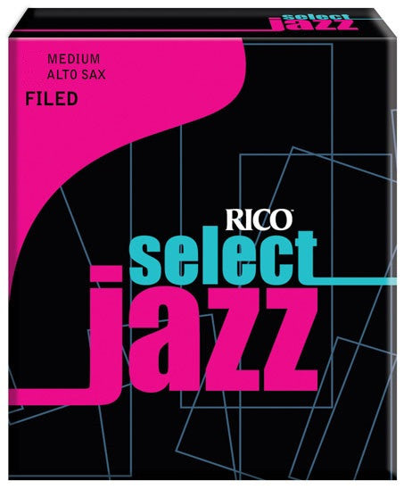 RICO SELECT JAZZ ALTO SAX REEDS, BOX 10, FILED