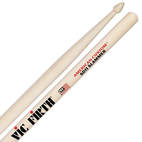 "VIC FIRTH CUSTOM DRUM STICKS ""SLAMMER"""