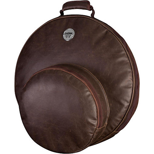 "SABIAN ""FAST 22 VINTAGE"" PADDED CYMBAL BAG, FAST HAT POCKET, FITS UP TO 22"" CYMBALS"