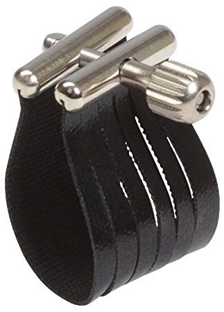 "ROVNER ""STAR"" Bb CLARINET LIGATURE & CAP SET, # SS-1R, STANDARD FIT"