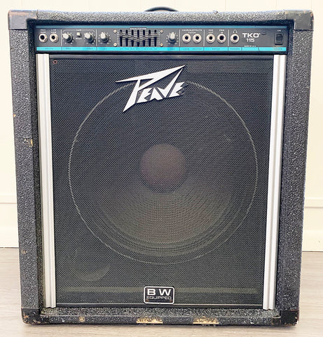"Peavey USA ""TKO 115"" Bass Guitar Amplifier"