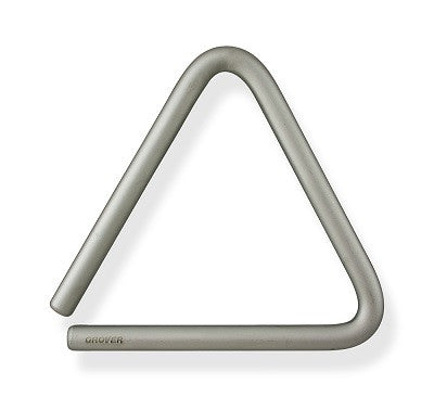 "GROVER 6"" TRIANGLE, SUPER-OVERTONE SERIES, CARBON STEEL, W/ BAG"