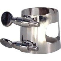 UNIVERSAL TENOR SAX LIGATURE, NICKEL PLATED