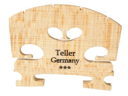 TELLER FITTED VIOLIN BRIDGE, 3/4