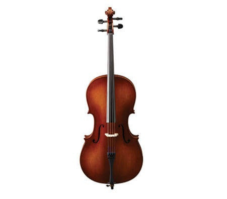 SAMUEL EASTMAN 1/2 CELLO OUTFIT, W/ BOW & PADDED BAG