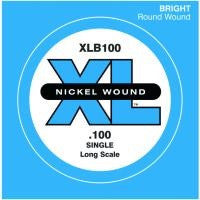 ".100"" XL NICKEL WOUND, ELECTRIC BASS SINGLE ""E"" STRING, LONG SCALE"