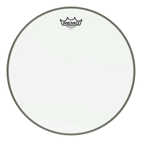 "REMO AMBASSADOR BATTER HEAD, 13"" CLEAR"