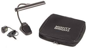 "MIGHTY BRIGHT ""ORCHESTRA"" STAND LIGHT, 1 ARM, 9 LEDs, 2x BRIGHTNESS SETTING, CLIP-ON"