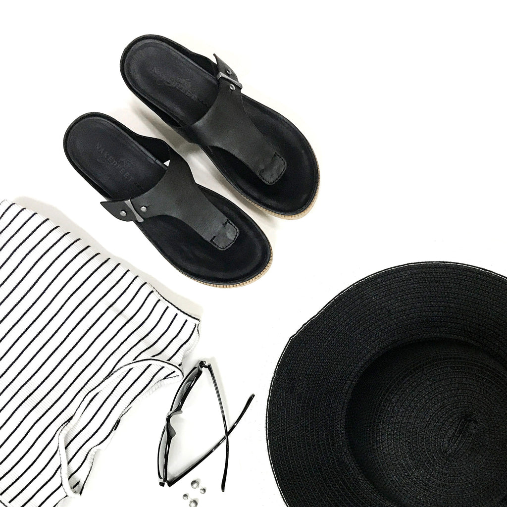 With summer approaching, it's time to give your look an update for the season. Here's some summer outfit inspiration featuring the comfortable Hadidd sandals.