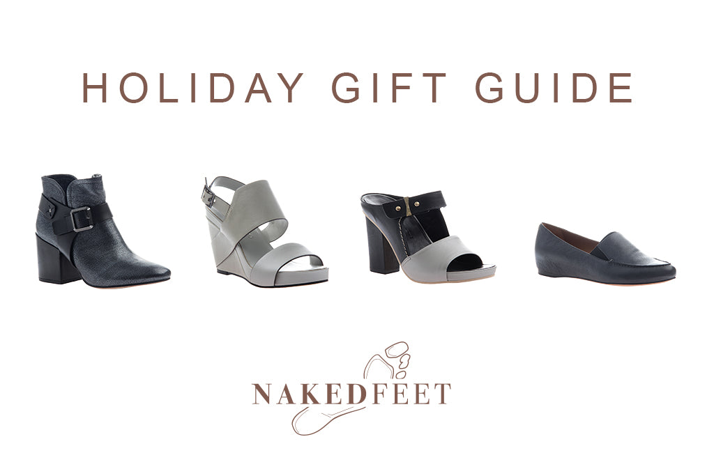 Check out Naked Feet Shoes and our Holiday Gift Guide!