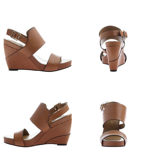 AALTOO in TOFFEE Wedge Sandals