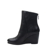 Amavi black bootie in black left