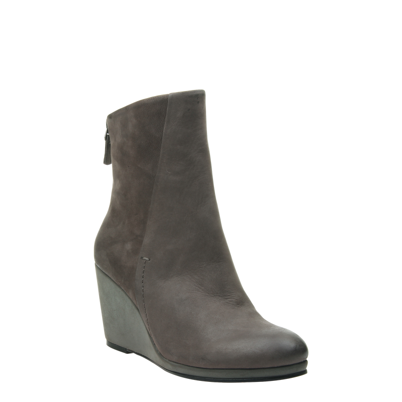 Amavi black bootie in Dust Grey