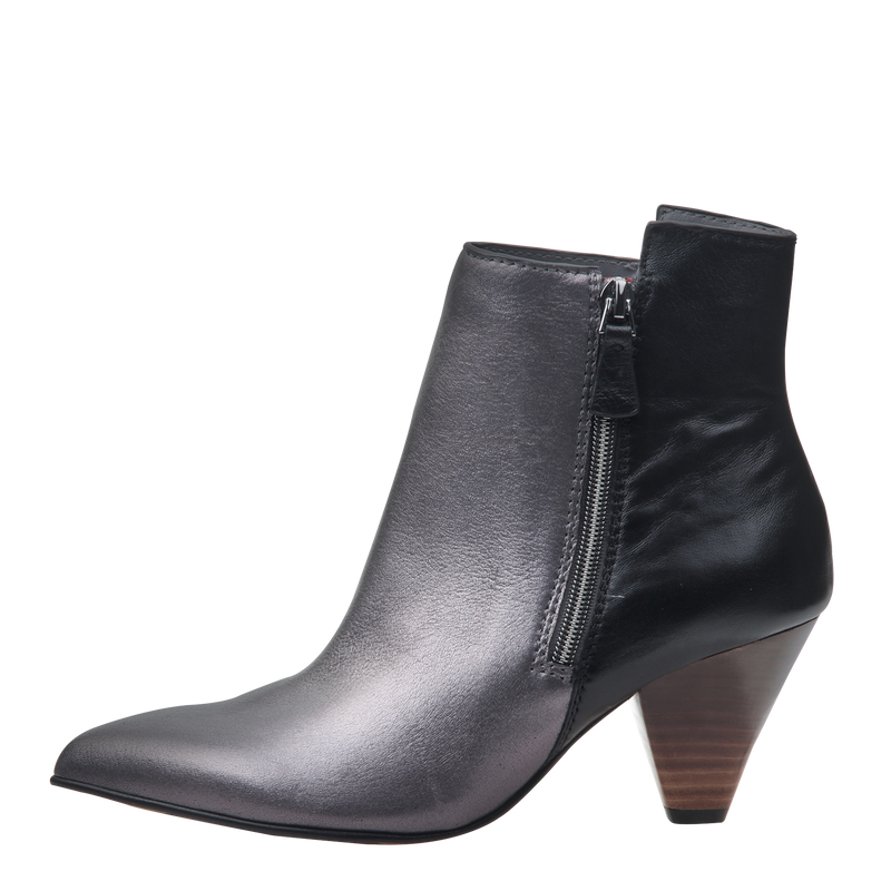 Womens boot Argo in dark pewter left